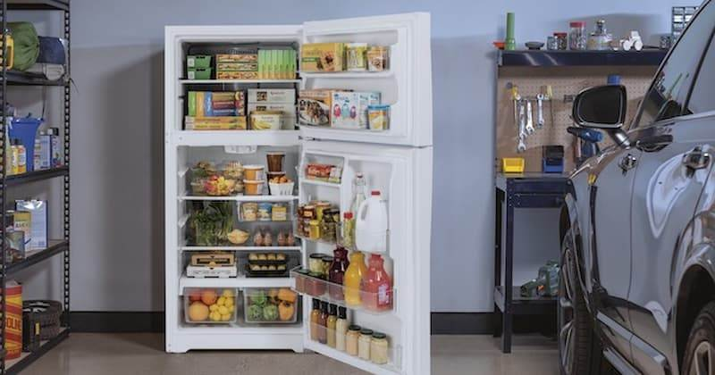 Refrigerator For Your Garage